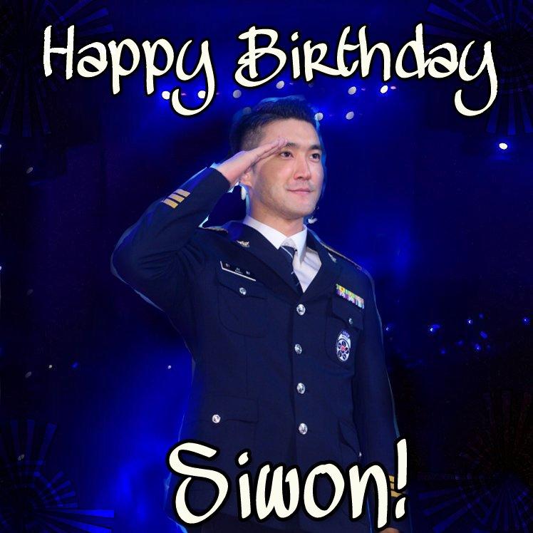 Happy Birthday Choi SiWon! Eres Único Por Tener 2 Cumpleaños Al Año. ELF TE AMA
