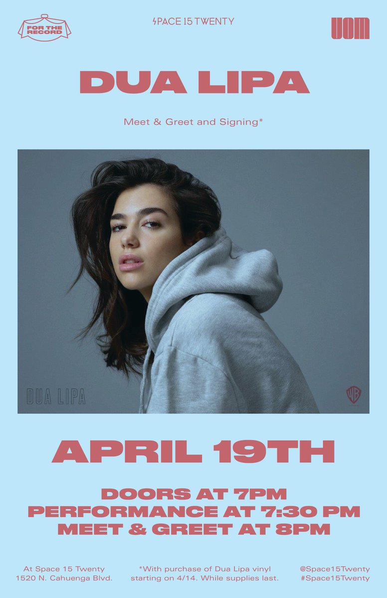 Dua Lipa On Twitter La Ill Be Doing A Special Performance And