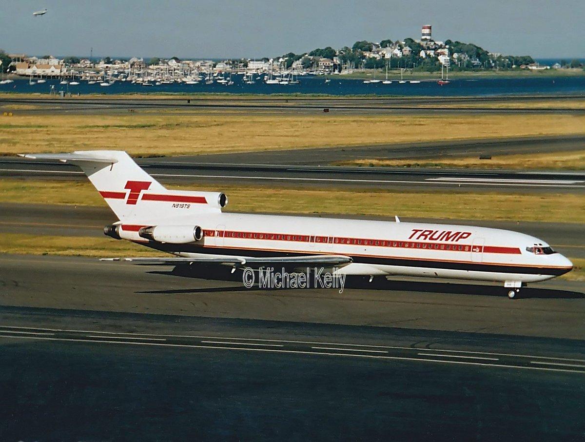 One for #ThrowBackThursday remember the #TrumpShuttle Taken  @BostonLogan @Boeing 727 #avgeek<br>http://pic.twitter.com/SluwJNO9Va