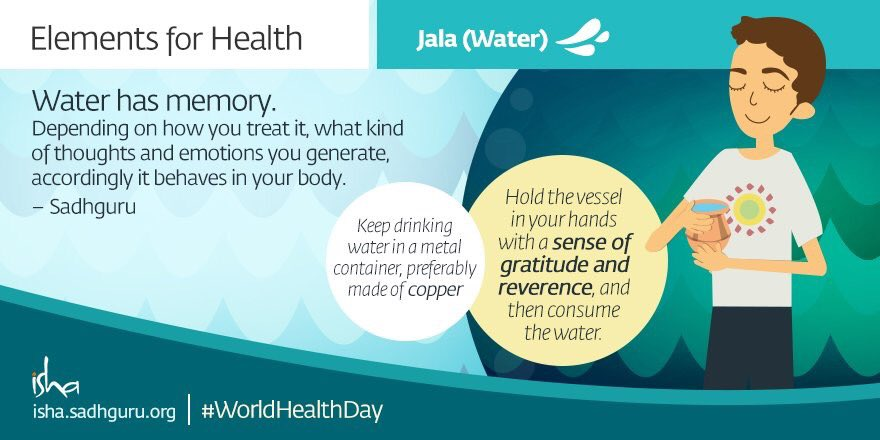 Some excellent, simple stuff from @ishafoundation on the #worldhealthday || Must have a look. https://t.co/hQDTQ9Os61