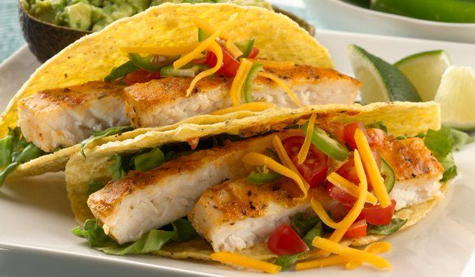 Spice Up Your Taco Night With Grilled Tilapia Tacos #RecipeIdeas