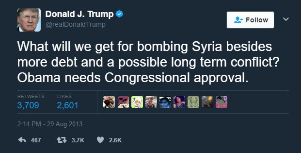 Image result for trump syria bomb meme