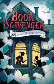 @KDuBayGillis @julicaveny @warrchick .@jabertie's BOOK SCAVENGER offers literary & real-life puzzles to solve & books to find. #mglitchat https://t.co/bBRMNnuPye