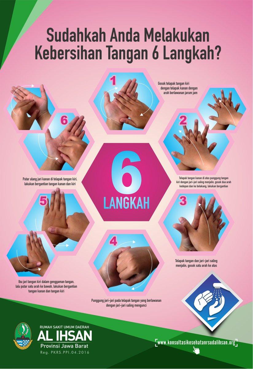 Dapatkan Inspirasi Untuk Poster Cuci Tangan 7 Langkah Koleksi Poster