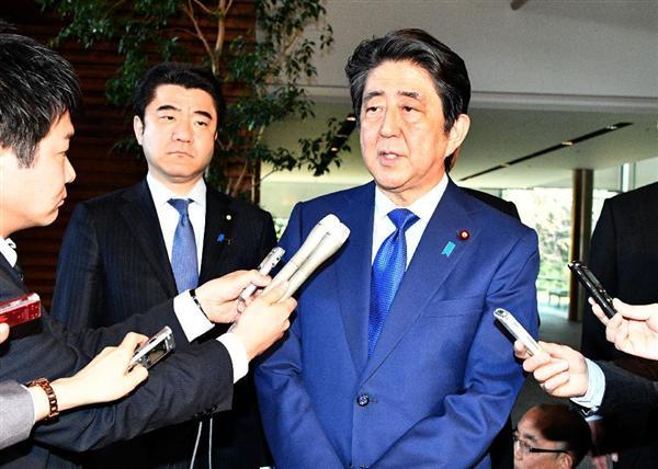 【シリア攻撃】安倍首相の発言全文 「米政府を支持する。国際社会と連携して日本の役割を果たす」 https://t.co/DLsdjLL6BZ  #シリア情勢 #シリア攻撃 #シリア #安倍晋三
