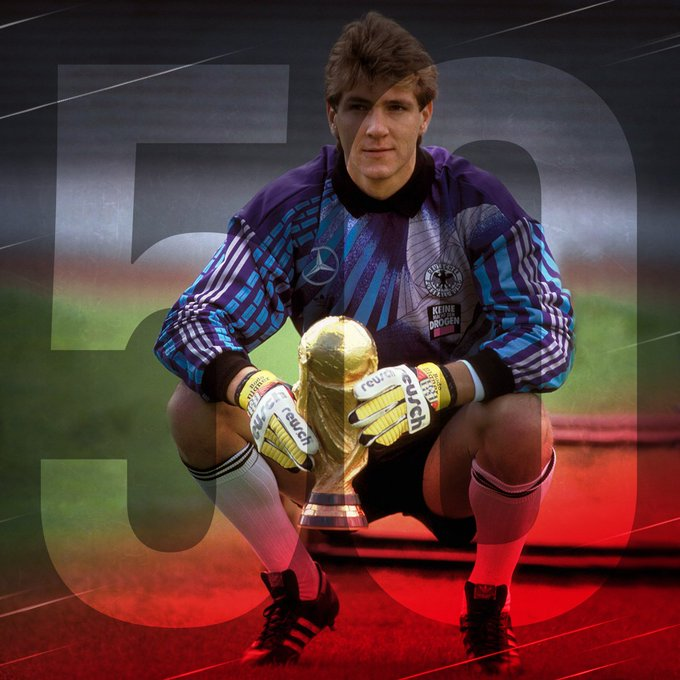 World Cup champion and former GK turns 50 today. Happy Birthday, Bodo!