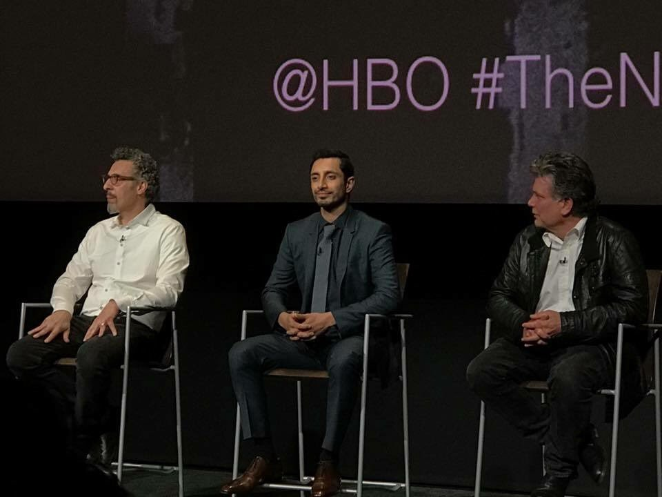@JohnMTurturro @rizmc #StevenZaillian at tonight&#39;s #fyc panel for @hbo #TheNightOf Love the show.  Love them!<br>http://pic.twitter.com/rOsemeTws6