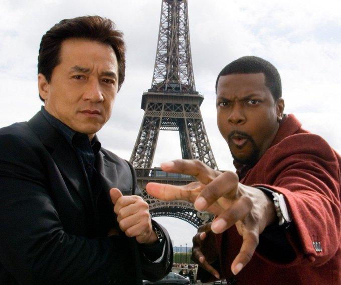 Happy Birthday to Jackie Chan(left), who turns 63 today!