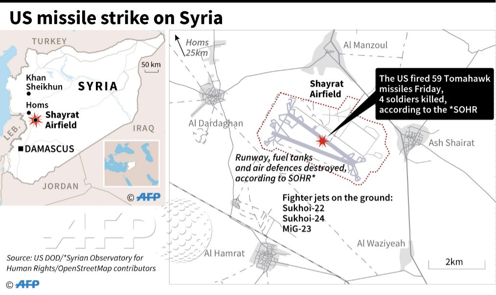 Thumbnail for Syria Airbase Destroyed After Chemical Attack: Daily Brief