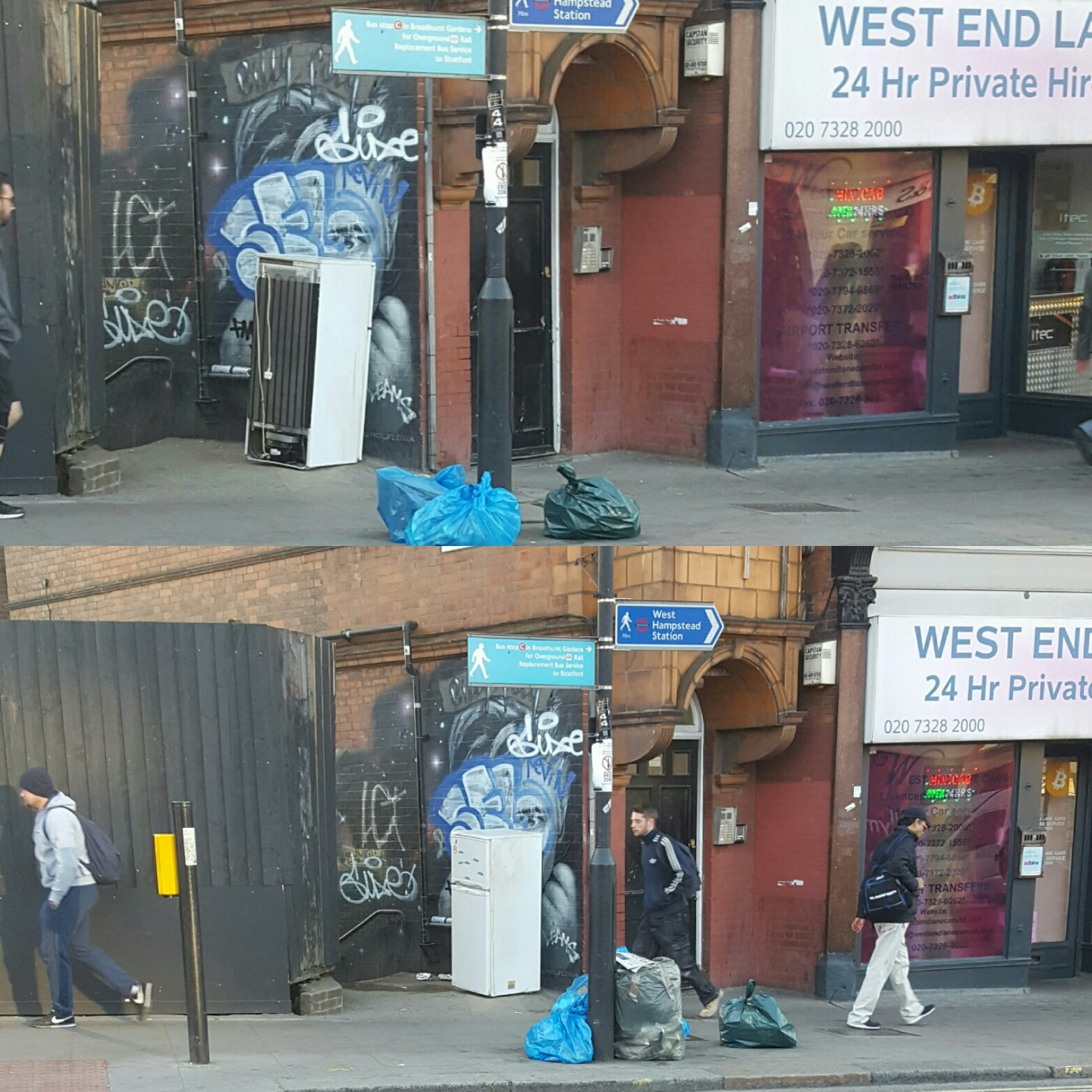 @WHampstead @WHSQresidents Thursday Morning, Friday Morning.  Spot the difference. https://t.co/kAuFQMIcqR