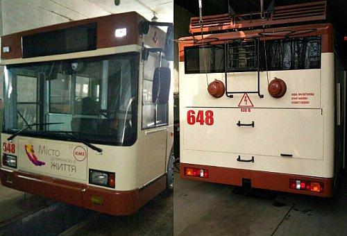 троллейбус 7 маршрут на карте
