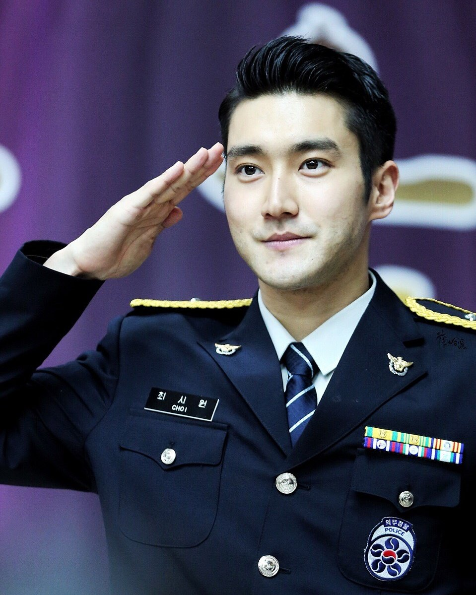 Happy Birthday to the most handsome police officer in Korea, Choi Siwon !!!!