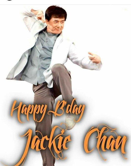 Happy Birthday Jackie Chan...