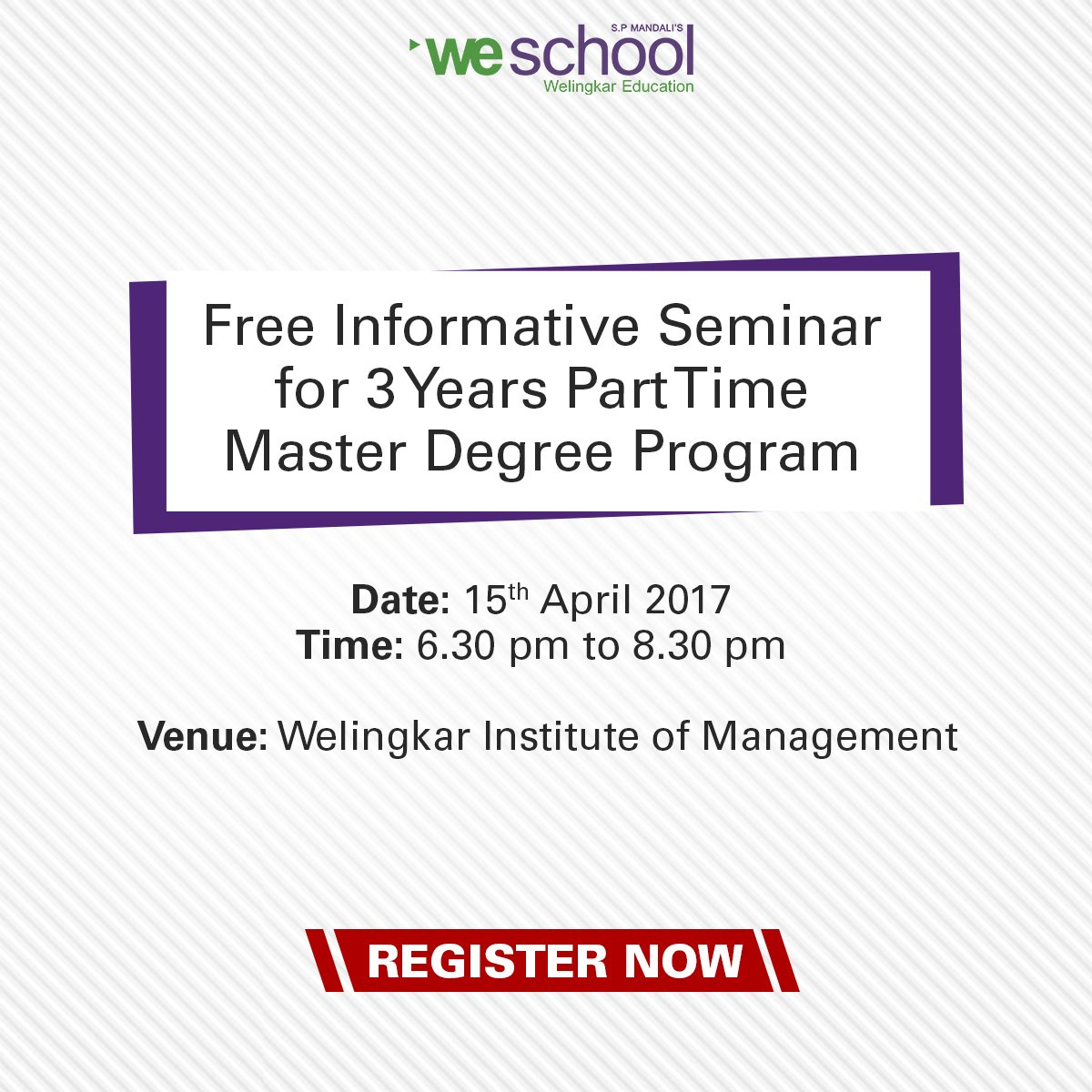 welingkar institute on why does a master s degree really welingkar institute on why does a master s degree really matter even to working professionals know more attend seminar register