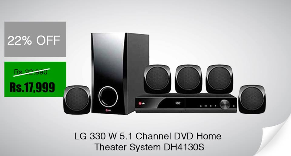 LG 330 W 5.1 Channel DVD Home Theater System. DH4130S Rs.17,999/= visit : https://t.co/mogYKMFwB7 Hotline : 0115566111/0768336333 https://t.co/ltstescifl