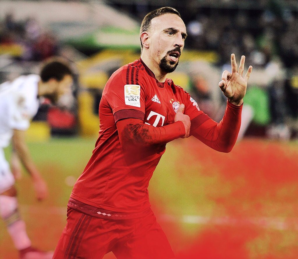 Happy 34th Birthday to one of the finest wingers of our generation .. Franck Ribery.