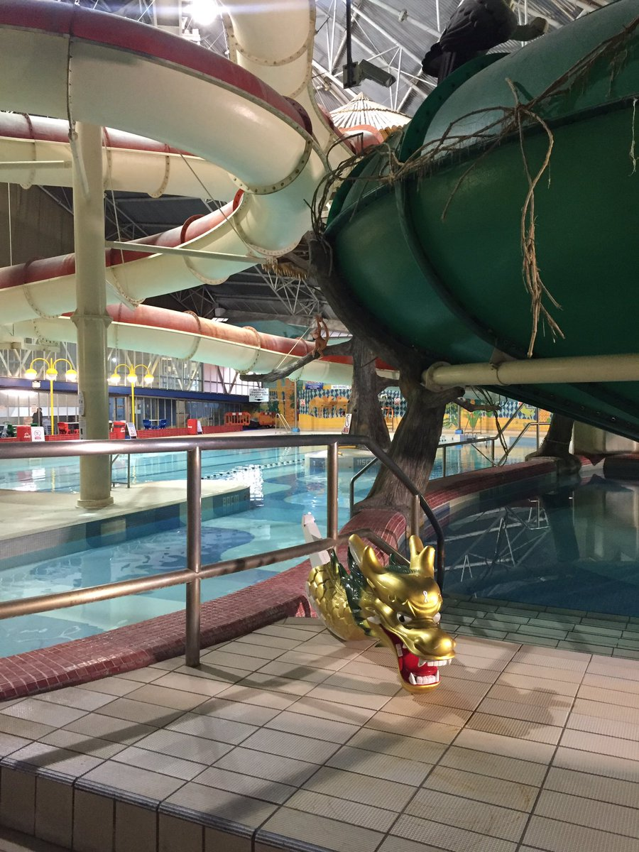 Sport Bradford On Twitter George Has Just Been Down Cobra Slide At Richard Dunn Sports Centre