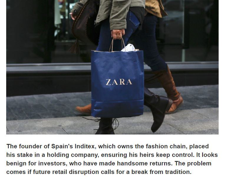 Ready soon at  http:// Breakingviews.com  &nbsp;  : Zara may end up bound by its family ties #Inditex <br>http://pic.twitter.com/UtMLufuUTS