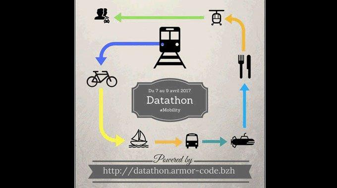 Top départ du #datathon organisé à @StBrieucAgglo ce WE : un challenge numérique autour des données sur la mobilité https://t.co/D9tQH4iwzd https://t.co/Ly0JUkotJJ