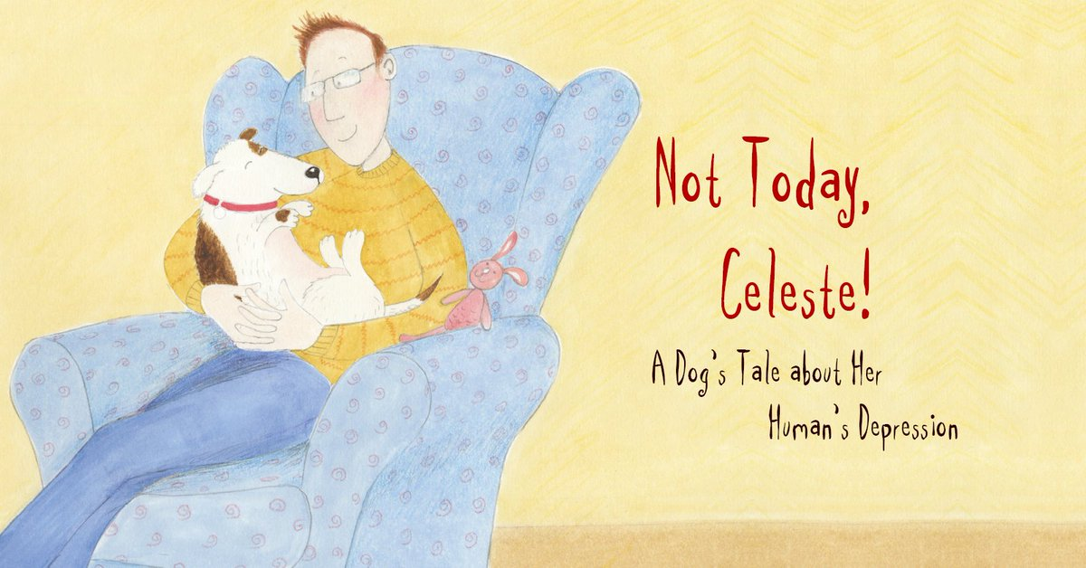 RT @JKPBooks This gentle book reassures kids who have a parent with depression - #LetsTalk about #depression this #WorldHealthDay https://t.co/k2flTiVKMp
