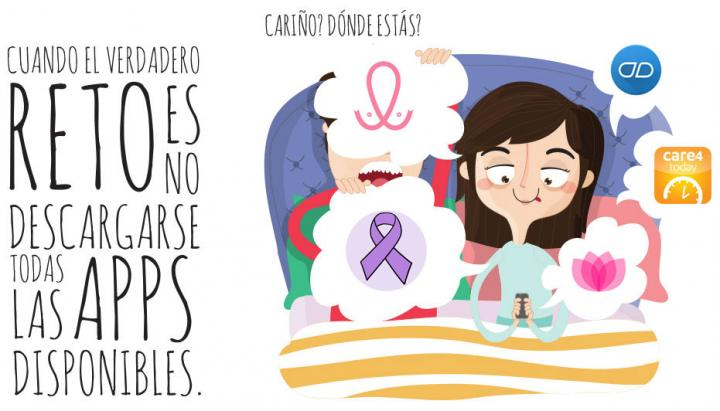 .@olayacasadose estrena en el Boletín para recomendarnos 5 apps para el cáncer de mama. ¡Bienvenida! #FFPaciente https://t.co/qJSLBYzCjP https://t.co/hEYjznmoQt