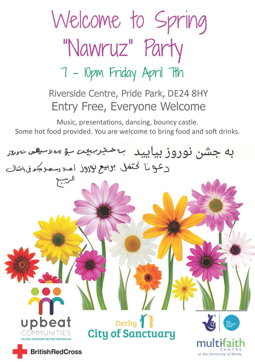Multi Faith Centre On Twitter Spring Nawruz Party This Evening