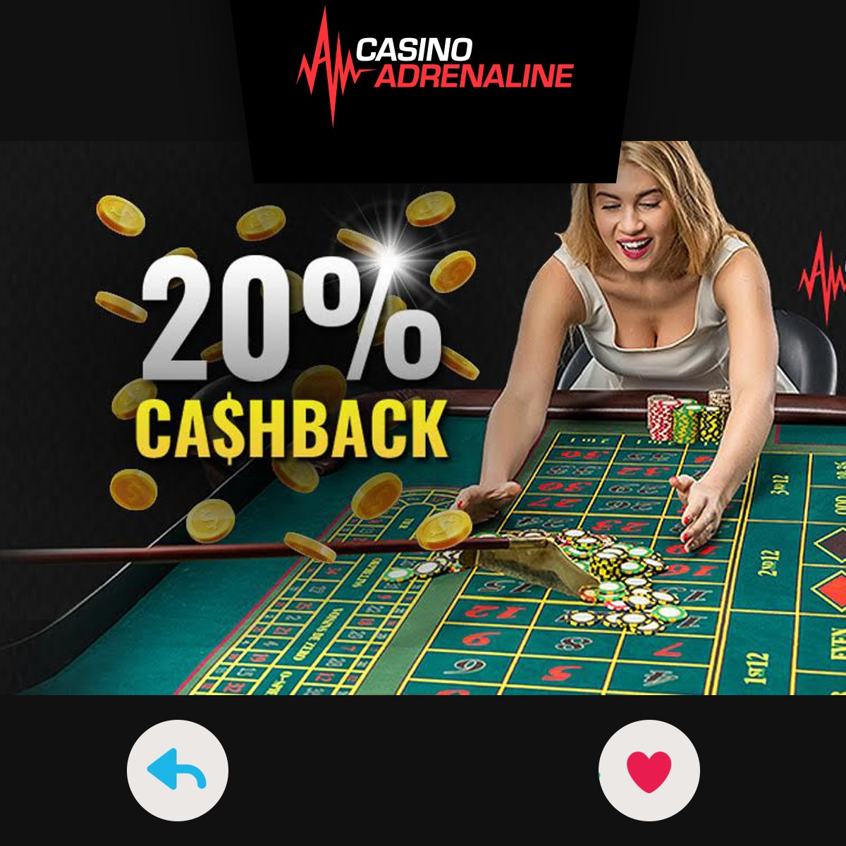 test Twitter Media - It's Friday! New weekly pay day at Casino Adrenaline. Today you will receive 20% Cashback!  Sign up: https://t.co/rADrtbCeuO https://t.co/nZPIeiqrSx