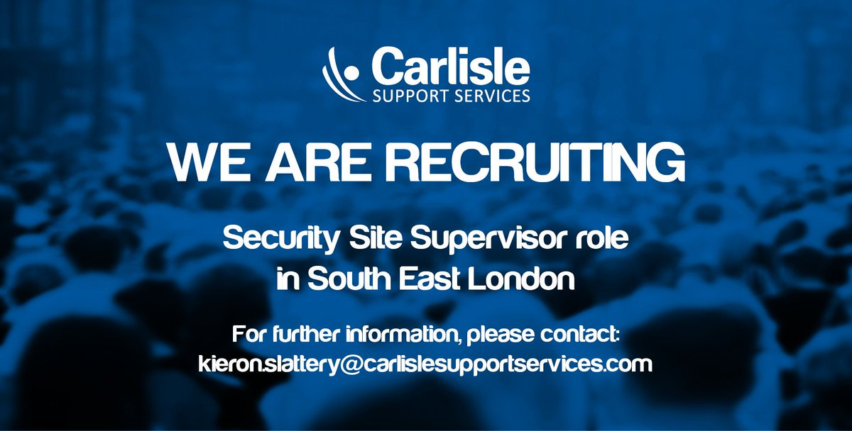 CarlisleSupServ carlislesupserv – Security Site Manager Jobs