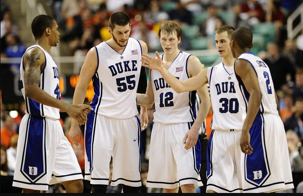 By the way, here's a picture of the five men who started for Duke's 2010 national championship team: https://t.co/Vb1OFr587r