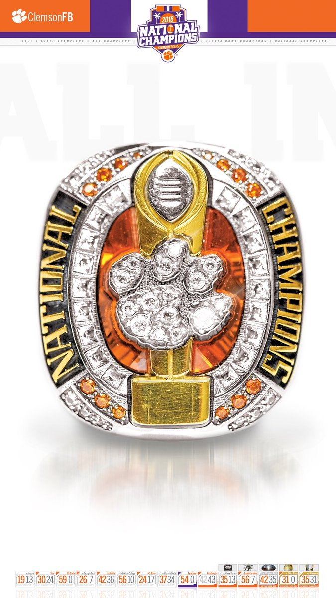 Clemson Football On Twitter Good Morning We Made This New