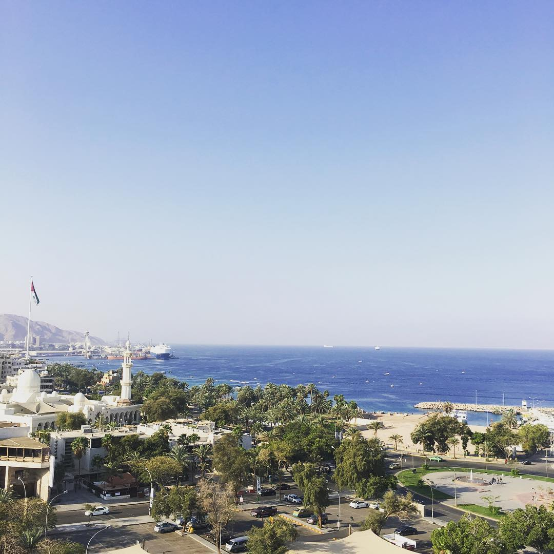 'Liberty Passion', loaded with US military vehicles, are currently moored at Aqaba Main Port, Jordan.