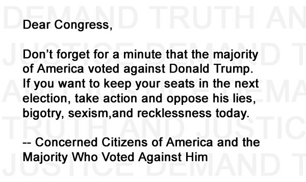 Congress, you&#39;re on notice.   #resist #theresistance #trumprussia #trumpleaks #rt #news #trump #trumplies #democrats #gop #russiagate<br>http://pic.twitter.com/u7uoL2nexr