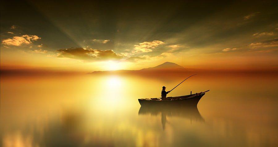 рассветные рыбаки