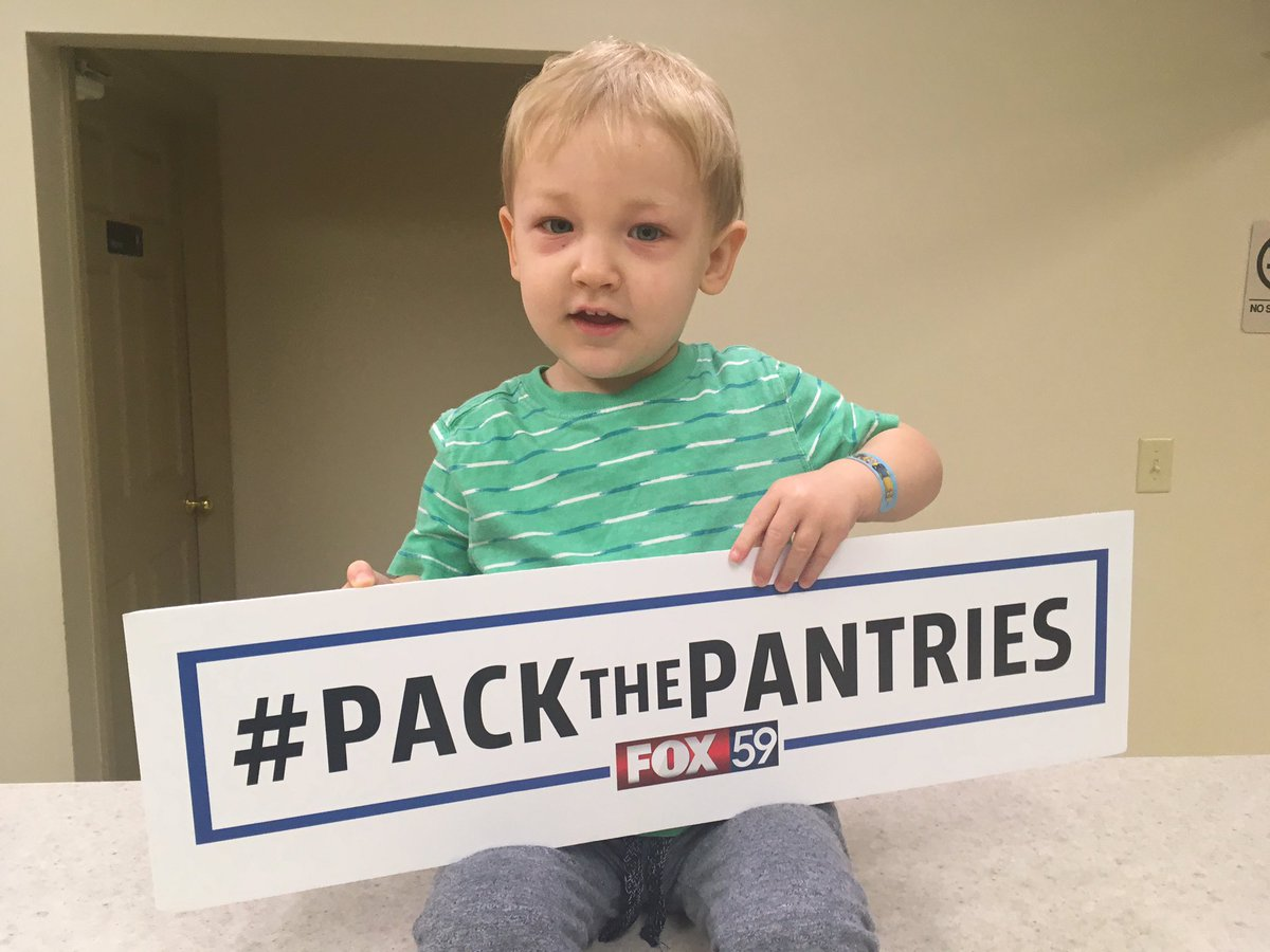 Spencer wants you to call and help us #PackThePantries! Call 317-493-2...