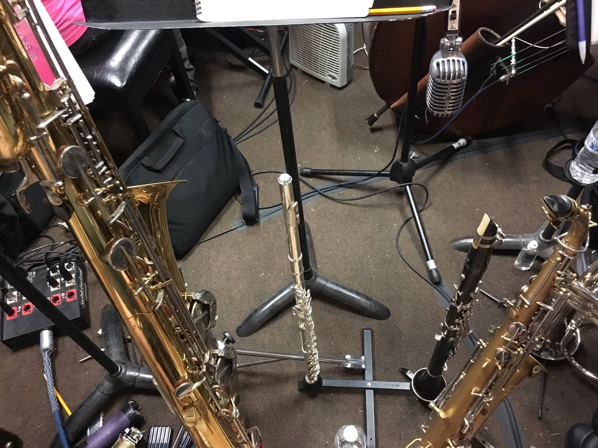 View from the #pit tonight! #woodwind #doubler #pitlife #musician #workinonthe weekend #legallyblondethemusical<br>http://pic.twitter.com/gMARL5vJRS