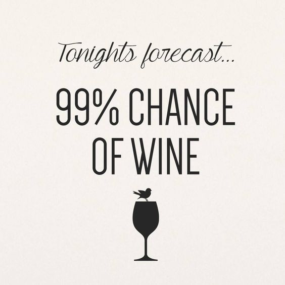 The forecast is never wrong! #tgif #friday #finally #wine #wino #forcast #happyhour #relax #happy #bbkspa #ladiesnight #friends #weekend<br>http://pic.twitter.com/8efnD7YCW4