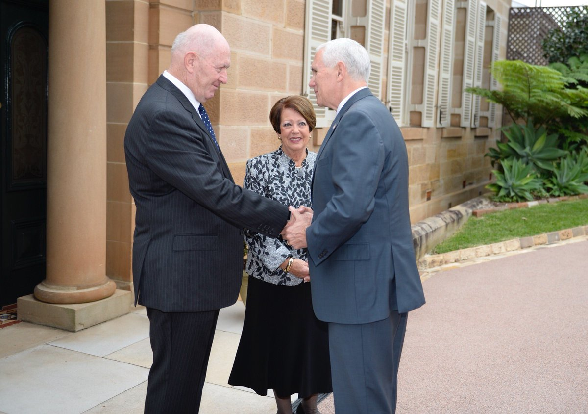 Us Consulate Sydney On Twitter Vpinaus Great Meeting Between Vp