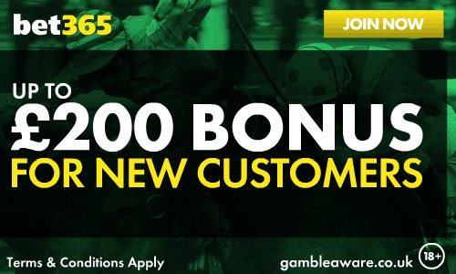 Bet365 Get £200 bonus #napolirealmadrid #spel Bet365 William Hill horse racing offers -&gt;  http:// bit.ly/2pOmU2r  &nbsp;  <br>http://pic.twitter.com/bgLiAnUBdP