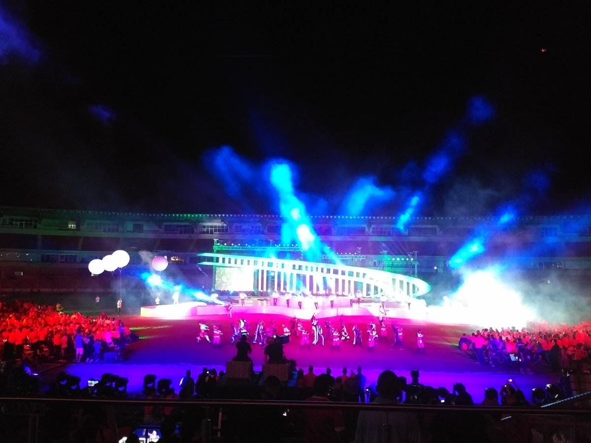 Spectacular opening ceremonies at the @SpecialOlympics Latin America games. Go Panama!! https://t.co/Dq8GnsLNoD