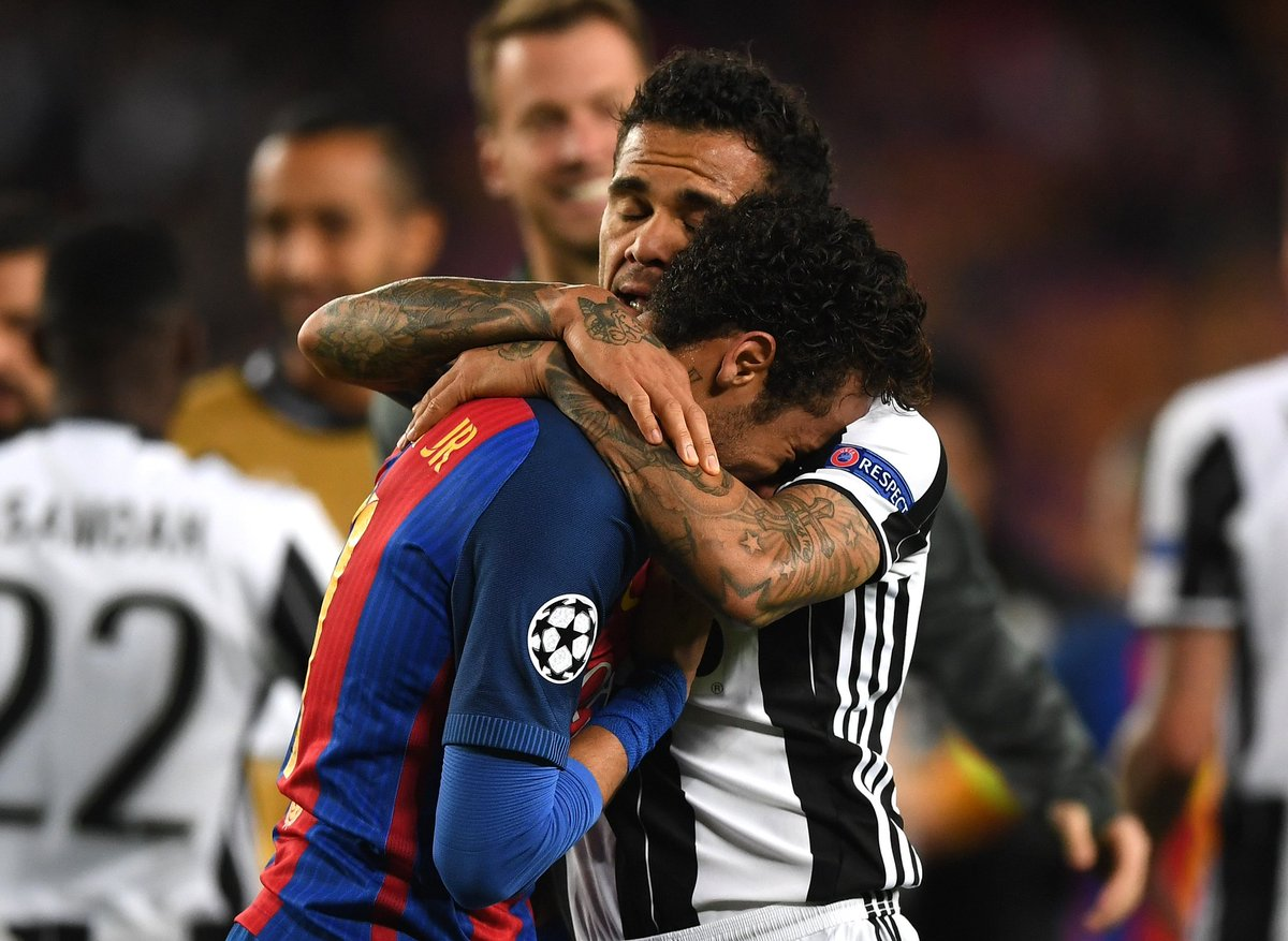 Dani Alves: &quot;I told Neymar that this is life, unfortunately we had to face each other&quot; #FCBJuve #Juve <br>http://pic.twitter.com/pYaVjVWFgl