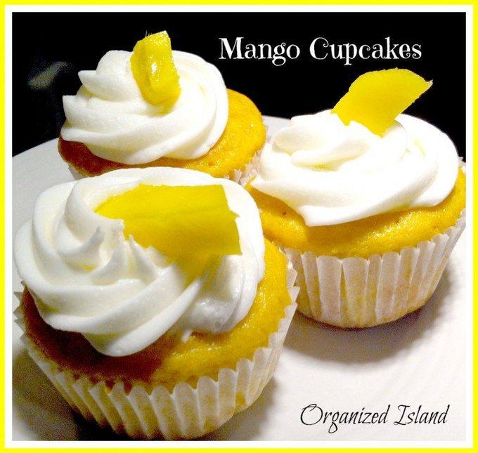 Simple Mango Cupcakes
