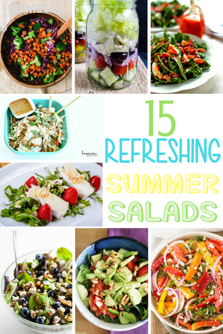 15 Refreshing Summer Salad Recipes