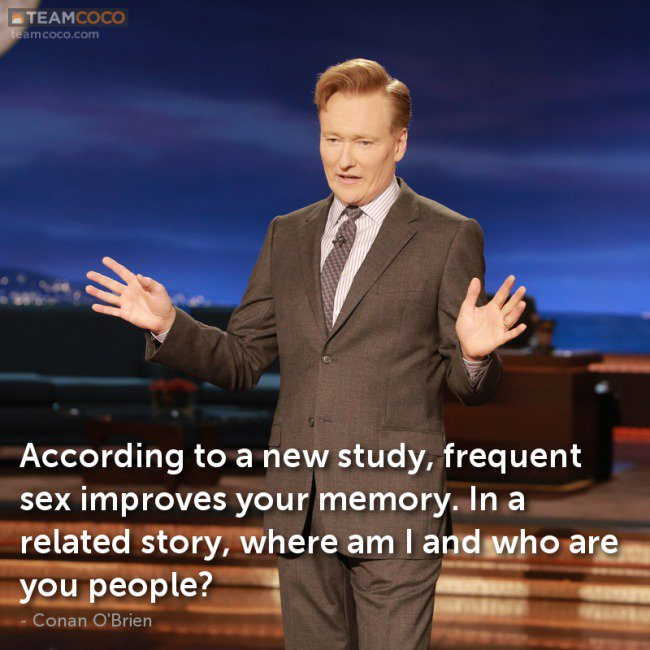 Having more sex improves memory says new study