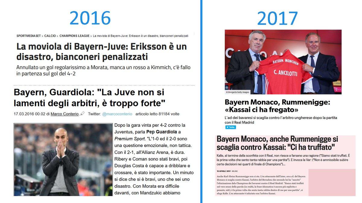 #Rummenigge. il #Bayern e gli #arbitri un anno dopo #UCL #Realbayern #BayernJuve #Juventuspic.twitter.com/mpBDvIRXL0