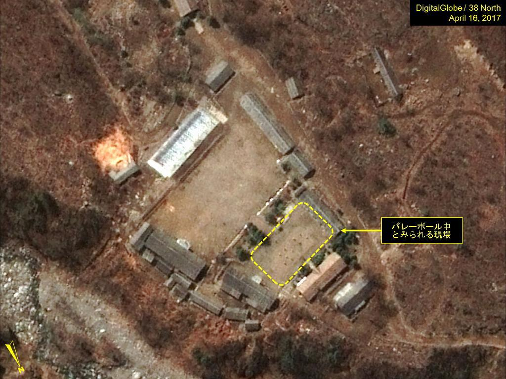 核実験「待機状態」か 新たなバレー用ネットも  https://t.co/JZoyMQ2HAD #北朝鮮 #北朝鮮情勢 #軍事 #防衛