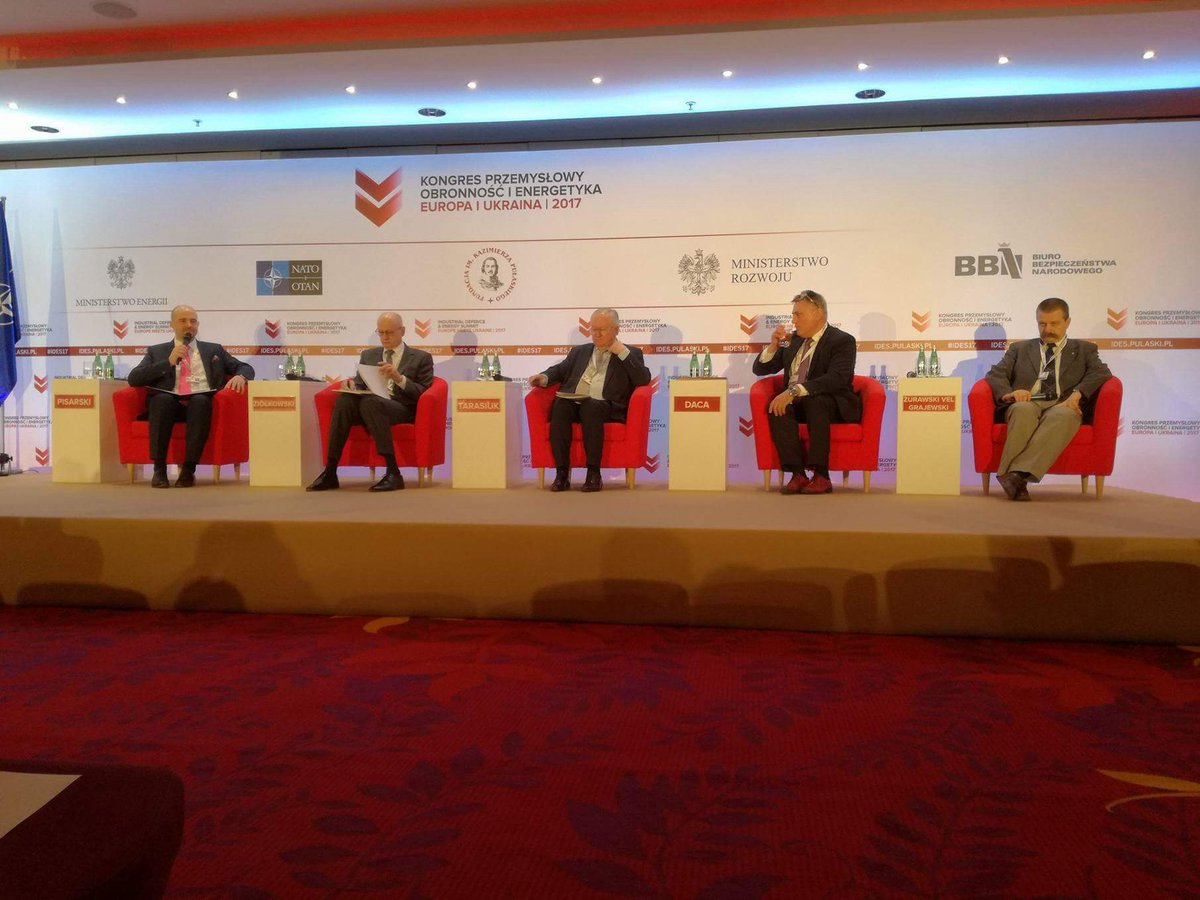 #Ziółkowski: We need to consider #Ukraine as a potential candidate to the #UE #IDES17<br>http://pic.twitter.com/FTCbJFrTVu