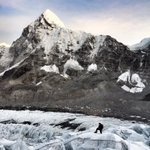 First run into the Khumbu Icefall for Rob and me this am. Good times @Bremont @jottnar @OrdnanceSurvey @Team_BMC