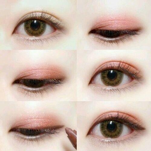日本人の目にマッチするアイメイクアップ  #make #eye
