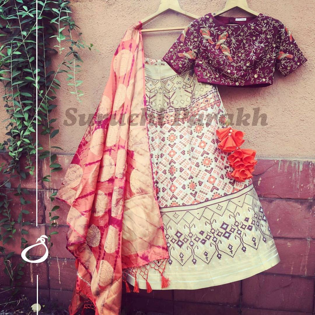 Suruchi Parakh couture. <br> Contact : suruchiparakh@gmail.com or whtsapp on +919537165033.