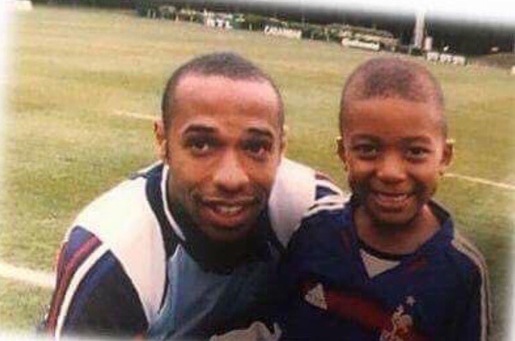 Image result for thierry henry on Mbappe